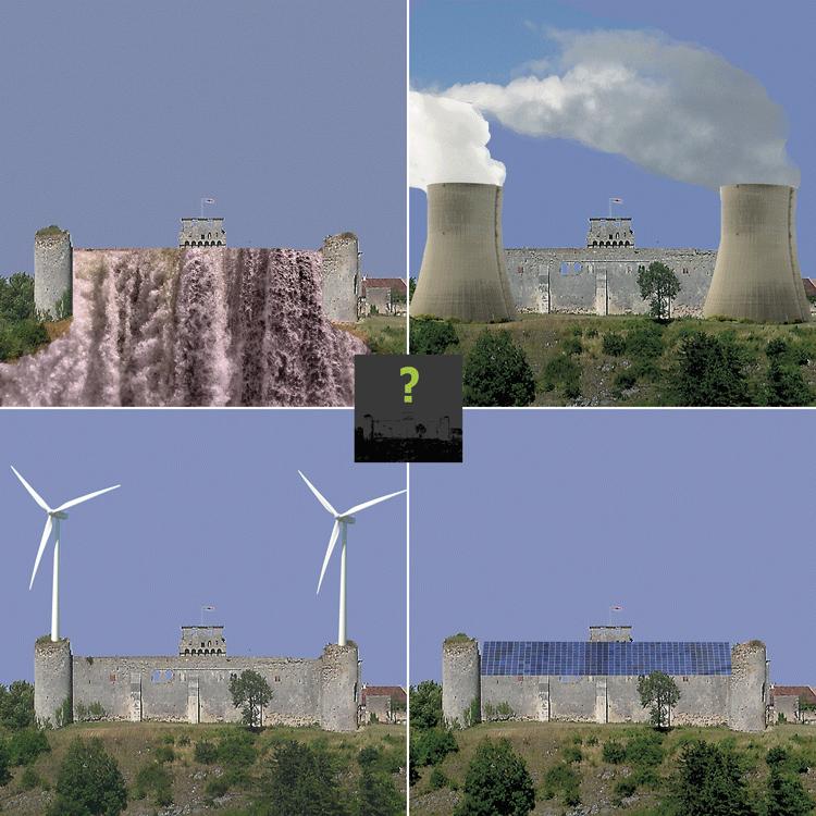 quelle énergie pour demain, nucléaire, voltaïque, hydraulique, éolien ?