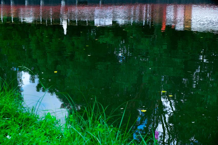 Clamecy reflets eau 14 atelier en ligne de hervey no l for Montebourg miroir