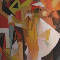hervey, peinture, huile, des corps attaqués, Jean Tortel