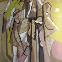 hervey, peinture, tempera, des corps attaqués, Jean Tortel 10