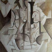 hervey, peinture, tempera, des corps attaqués, Jean Tortel 11
