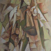 hervey, peinture, tempera, des corps attaqués, Jean Tortel 4