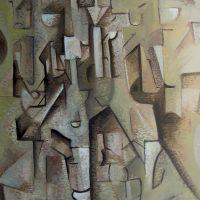 hervey, peinture, tempera, des corps attaqués, Jean Tortel 6