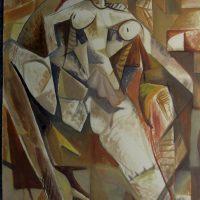 hervey, peinture, tempera, des corps attaqués, Jean Tortel 8