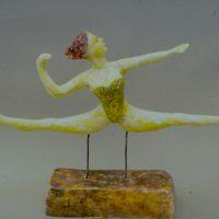Hervey, sculpture, plâtre polychrome, exercice3