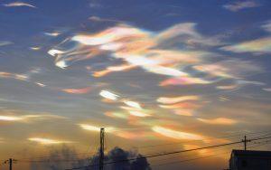 nuages nacrés