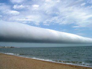 nuage arcus ou de type rouleau