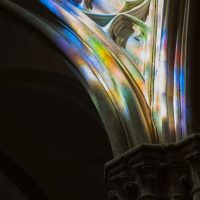 Hervey, digigraphie, Clamecy-Reflets-abbatiale12