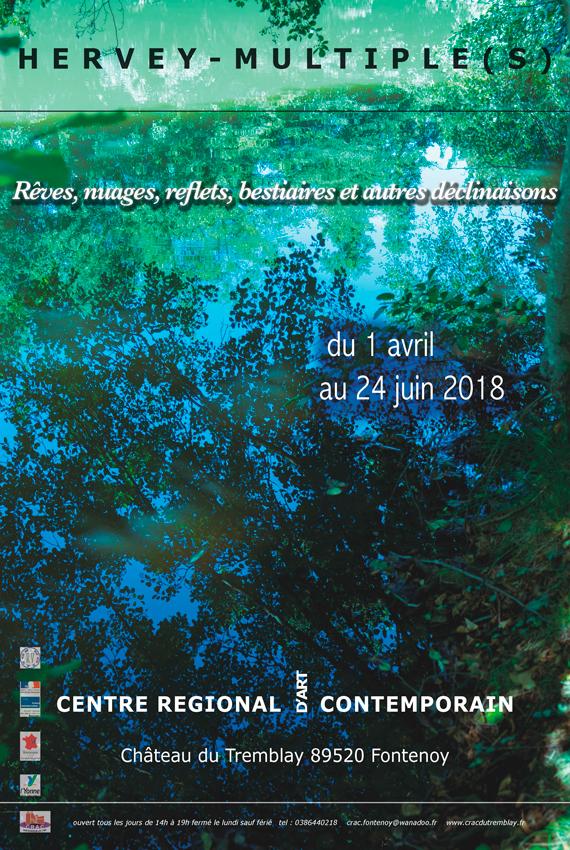 Hervey, Affiche, Exposition au CRAC de Fontenoy