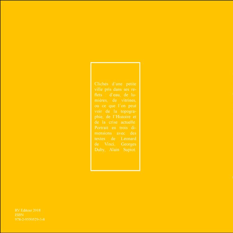 Livre Clamecy/Reflets, édition RV, quatrième de couverture