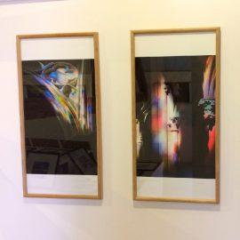 Hervey, expo au CRAC de Fontenoy, série Clamecy/Reflets