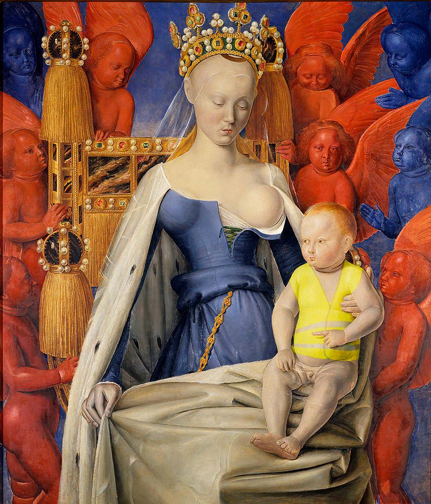 Joyeux Noël avec le peintre Fouquet