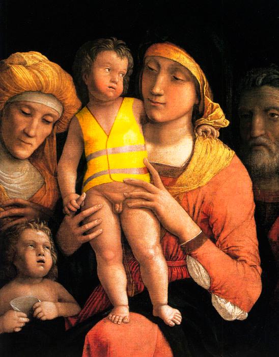 Joyeux Noël avec Mantegna