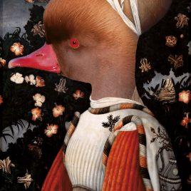 hervey, digigraphie, gravure numérique, hommage à pisanello