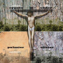 hervey, déclinaisons, gravure numérique, les bois de la croix