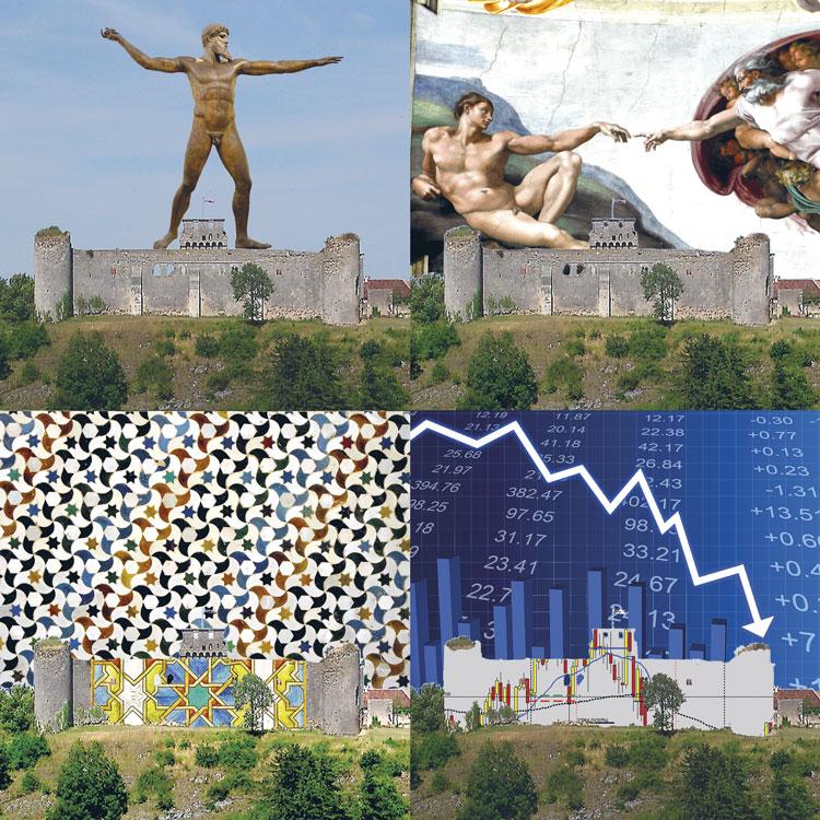 le marché, des dieux et des hommes