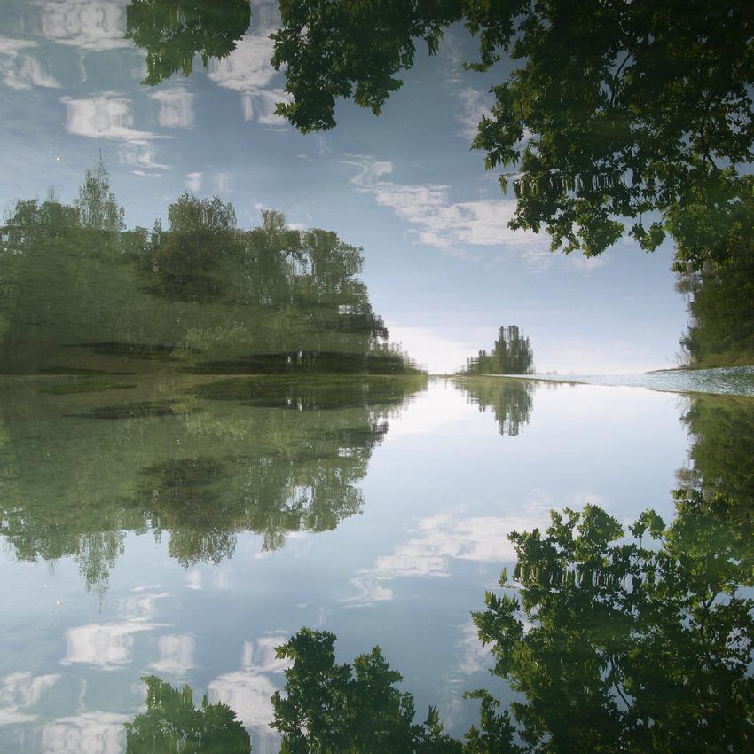 hervey, digigraphie, nuagerie, ivresse au partage des eaux