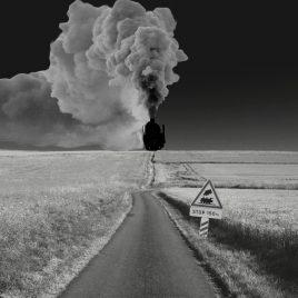 hervey digigraphie nuagerie tchou-tchou train