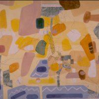 Hervey, peinture, collage, cartes et itinéraires, Séance de croquis entre Ménerbes et Oppéde