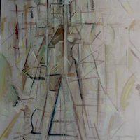 hervey, peinture, tempera, des corps attaqués, Jean Tortel