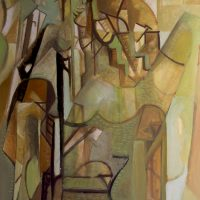 hervey, peinture, tempera, des corps attaqués, Jean Tortel 9