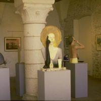 hervey, sculpture et peinture, expo Vézelay3