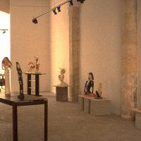 Hervey, sculpture, plâtres polychromes, expo galerie Serrero 4
