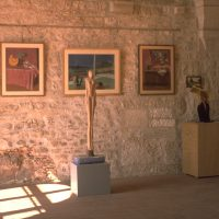 Hervey, sculptures et peintures, expo Vèzelay