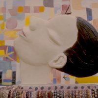 Hervey, sculpture, plâtre polychrome, le jour la nuit