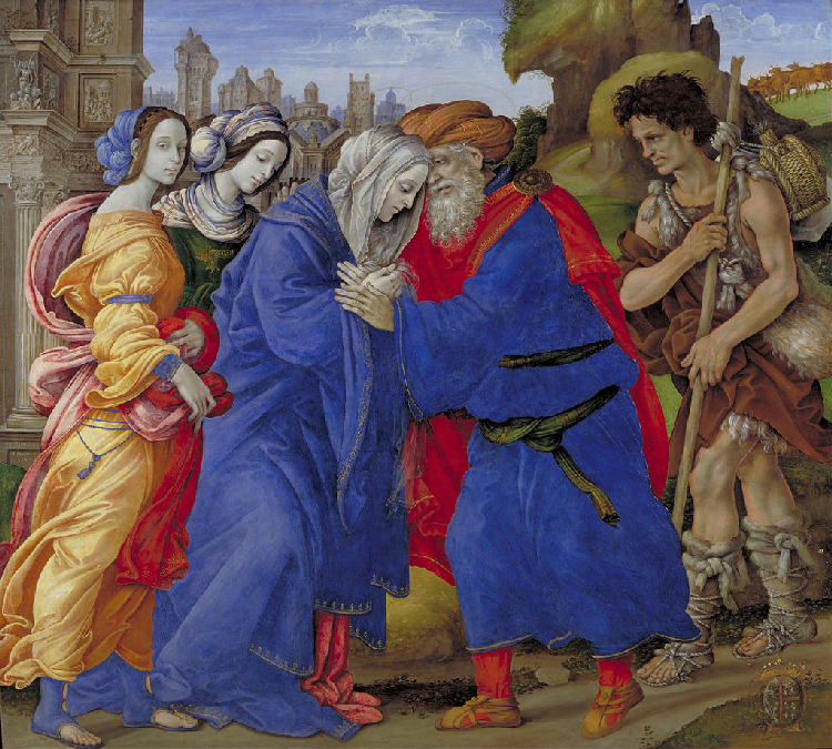Filippino Lippi : Anne et Joachim