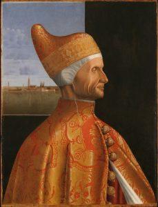 Gentile Bellini - Le doge Loredan Musée Corer Venise