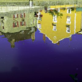 Hervey, digigraphie, Clamecy/Reflets/River 30
