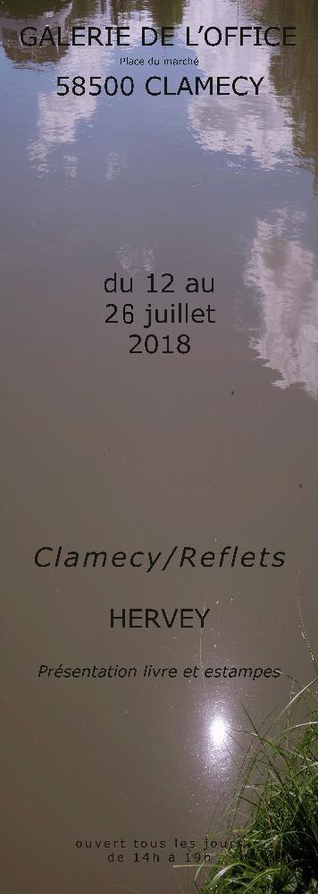 Présentation du livre CLAMECY/REFLETS à la galerie de l'Office