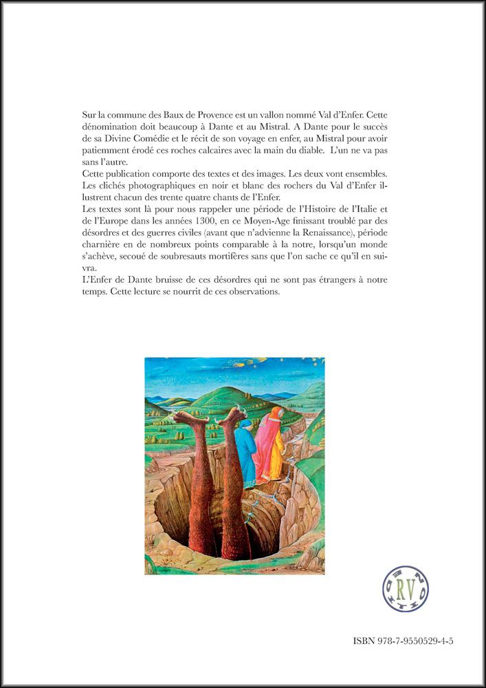 Hervey, livre, Dante l'enfer, illustration, quatrième de couverture