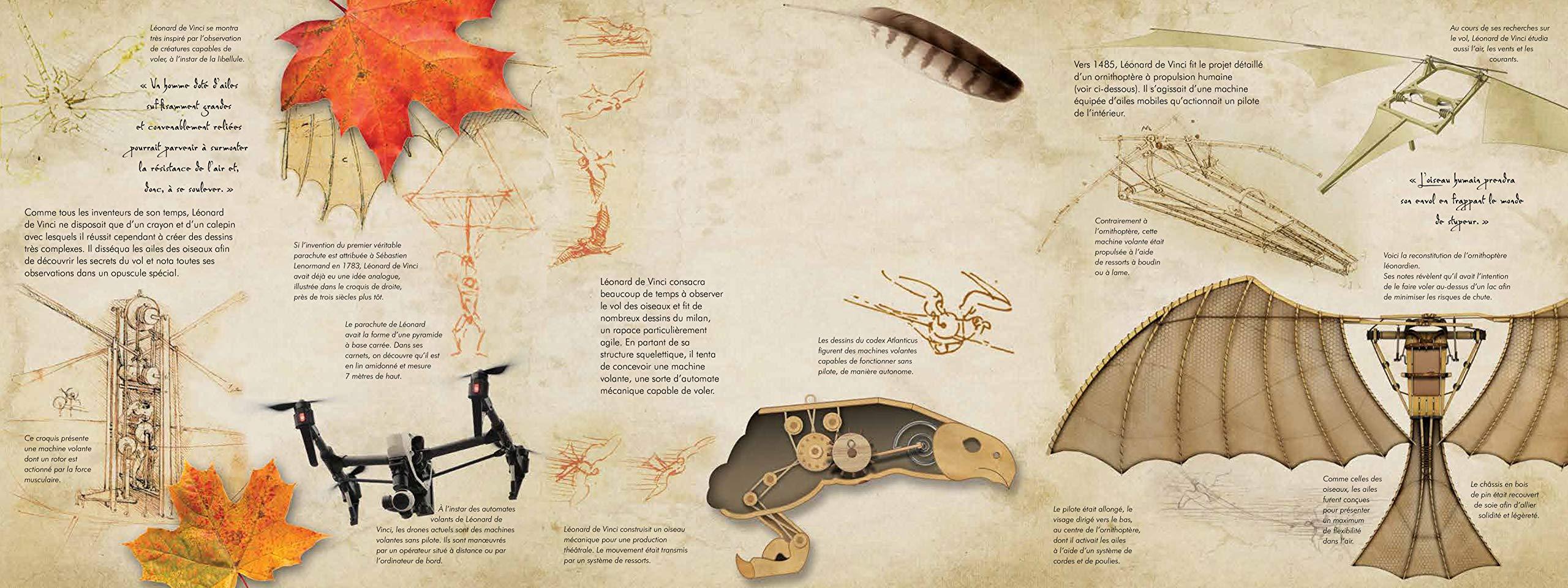 Vinci et l'aéro-spaciale