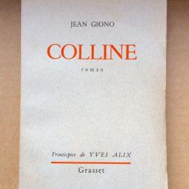 Hervey Colline de Jean Giono
