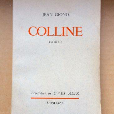 COLLINE de Jean Giono.