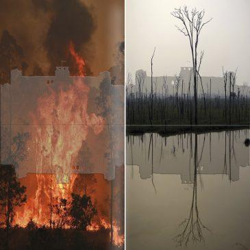 Déclinaison  : «Alerte ! La planète brûle»