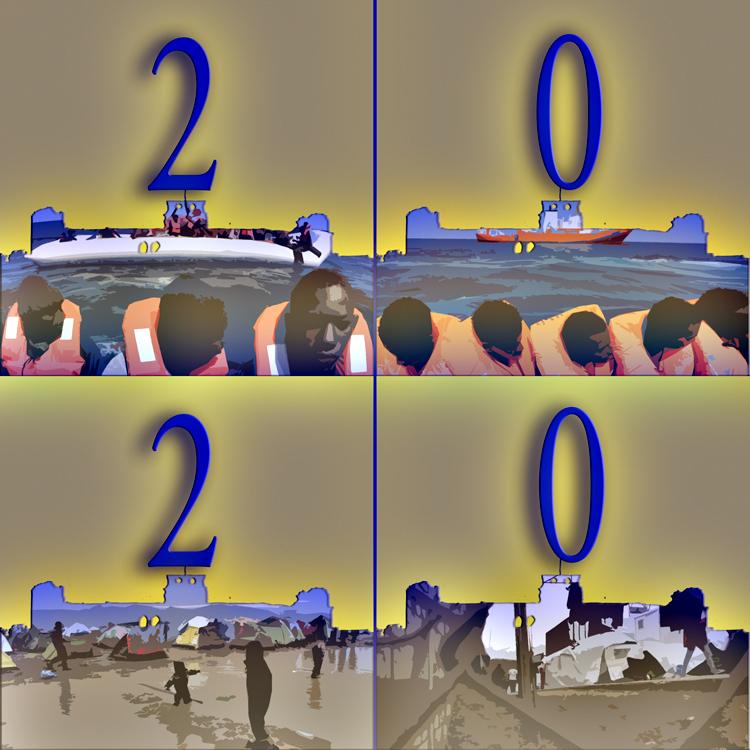 """Hervey Déclinaison """"Meilleurs voeux pour 2020"""""""