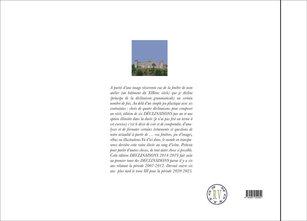 Hervey livre tome 2 DECLINAISON  quatrième de couverture