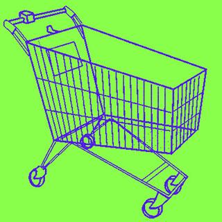 Hervey Caddie de supermarché