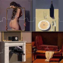 2020 Hervey Déclinaison Confiné avec Magritte