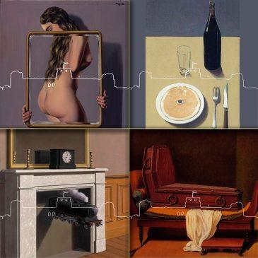 2020 Déclinaison : Confiné avec Magritte