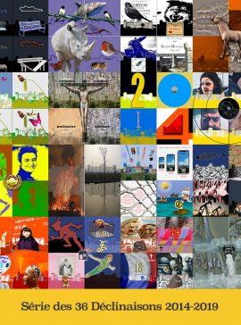 Hervey Série des 36 Déclinaisons 2014-2019