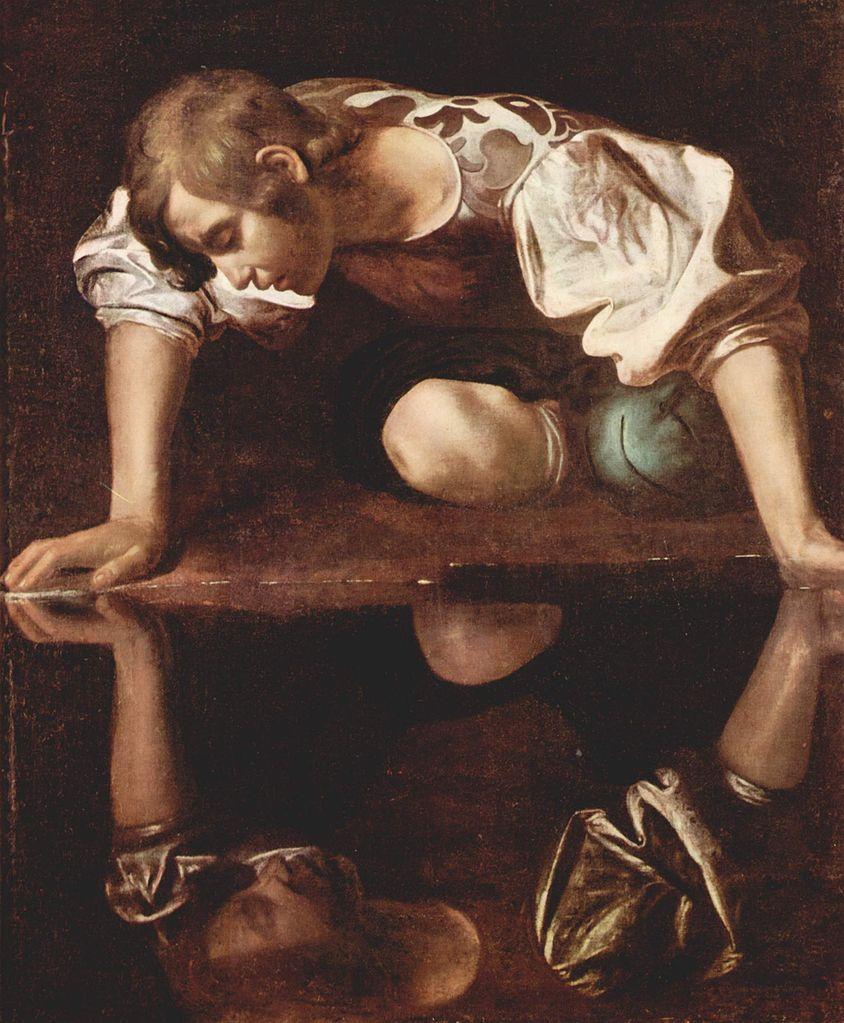 Caravage Narcisse 1597