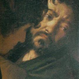 Caravage, autoportrait2, Martyre de St Mathieu