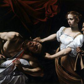 Caravage Judith et Holopherne 1600