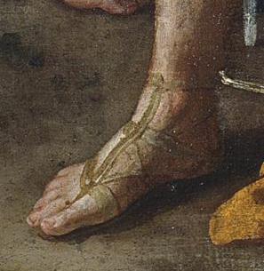 Poussin Le triomphe de David