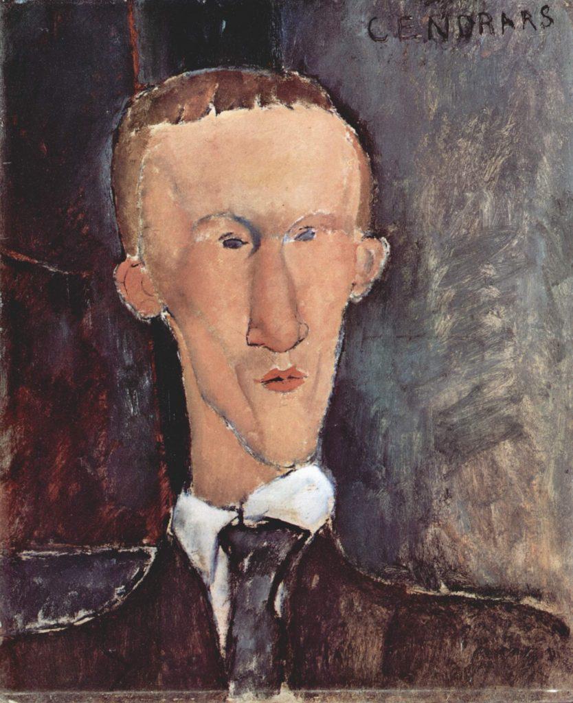 Blaise Cendrars par Amedeo Modigliani