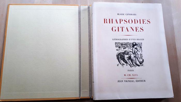 Yves Brayer illustrant Rapsodies gitanes de Cendrars